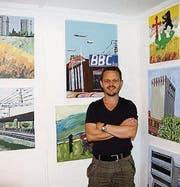 Der Gossauer Künstler Benno Meier (Bild: Gabriela Spycher)