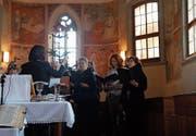 Wer im Kirchenchor Ganterschwil mitsingen möchte, ist zu den Proben eingeladen. Diese sind jeweils am Montagabend. (Bild: PD)