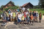 Die Jungwacht Degersheim hat keine Nachwuchssorgen, die Mitgliederzahlen sind seit Jahren stabil. (Bild: PD)