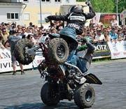 Am Samstagabend zeigt Freestyle-Wille eine Stuntshow. (Bild:pd)