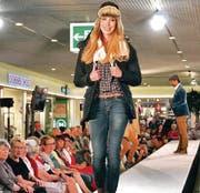Die Models präsentierten die neuen Herbst/Winter-Kollektionen. (Bild: Seraina Hess)