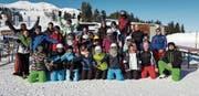 Die Mitglieder des STV Kirchberg genossen ihr Skiweekend in den Flumserbergen. (Bild: PD)
