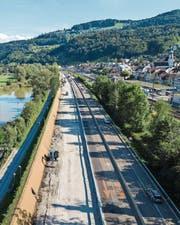 Bis Ende Jahr soll der Autobahnabschnitt wieder instandgesetzt sein. (Bild: ASTRA Winterthur)