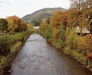 Die Thursanierung soll zu einem neuen Bild des Wattwiler Zentrums beitragen. Beispielsweise mit Flusszugängen im Bereich des künftigen Campus Wattwil. (Bild: Martin Knoepfel)