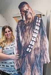 Als Chewbacca noch im Friseursalon stand. (Bild: Hanspeter Schiess)