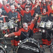 Die Mitglieder des Sprengkommandos Bütschwil freuen sich auf ihren Jubiläums-Fasnachtsumzug morgen Samstag.