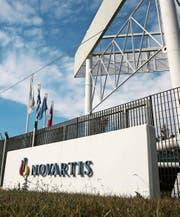 Der Standort von Novartis in Athen. (Bild: EPA/Alexandros Vlachos)