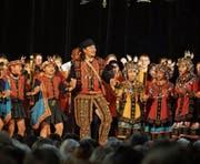 In vielen Farben präsentierte sich das Kinderkonzert am Klangfestival vor zwei Jahren. (Bild: PD)