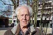 Albert Binder, 85, Rentner, Wittenbach (Bild: Matthias Fässler)