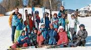 Die 3. Klasse aus Alt St. Johann besuchte den Parcours am Mittwoch. (Bild: Angela Hess)