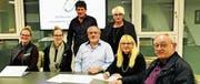 Der Vorstand wurde für zwei Jahre fix gewählt. (v. l.) Sabrina Lüchinger, Virginia Lüchinger, Hanspeter Ruckli, Kurt Köppel, Alexandra Forster, Edith Buschor und Hermann Zäch. (Bild: pd)