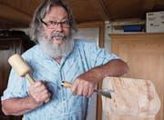 Jürg Jenny (80) arbeitet immer noch. Mit der AHV-Rente käme er nicht über die Runden. (Bild: Archiv/mia)