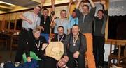 Die Feuerwehr Schwellbrunn glänzte an den Skimeisterschaften mit einem Doppelsieg. (Bild: PD)