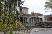 Die Interpellanten würden bei der Kantonsschule Wattwil einen Neubau aus Holz begrüssen. (Bild: Urs M. Hemm)