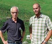 Werner Zogg (l.) geht in den Ruhestand, Simon Zürcher (r.) übernimmt seine Aufgaben. (Bild: pd)