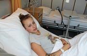 Mia Bachmann lag nach dem Reitunfall bis am Mittwochvormittag im Altstätter Spital. (Bild: Gert Bruderer)