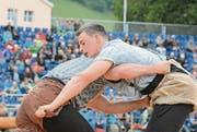 Der Thurgauer Samuel Giger unterlag nach starker Vorstellung im Schlussgang Armon Orlik. (Bilder: Beat Lanzendorfer)