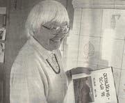"""Gertrud Oberli, Pfadiname """"Specht"""", führte ein Archiv über die Pfadibewegung in der Region Toggenburg. (Bild: PD)"""
