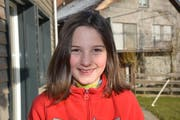Laura Nagel, 10, Bäbikon. (Bild: Beat Lanzendorfer)