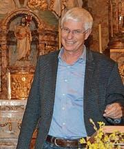 Der Gemeindepräsident von Kirchberg, Christoph Häne, nennt seinen Arbeitsort auch Heimatort. (Bild: Beat Lanzendorfer)