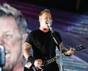 Metallica-Sänger James Hetfield: «Are you alive!?»