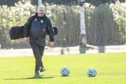 Künftig nicht mehr im FCSG-Trainer zu sehen: Marco Otero. (Bild: freshfocus)