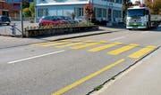 Dieser Fussgängerstreifen an der St. Gallerstrasse genügt den Sicherheitsanforderungen nicht. (Bild: PD)