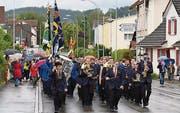Auch die Stadtharmonie Amriswil als Partnerverein wirkte mit. (Bild: Yvonne Aldrovandi-Schläpfer)