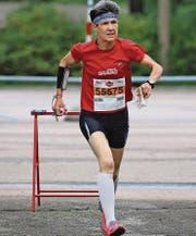Monika Ammann lief in Aarau zweimal auf den zweiten Kategorienrang. (Bild: pd)