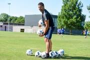 Hat einen neuen Job bei der Fifa: Pascal Zuberbühler. (Bild: freshfocus)