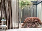 Schaffen Privatsphäre: Elegante, stilvolle Vorhänge. (Bild: romo.com)