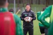 Der ehemalige Assistenztrainer Daniel Tarone arbeitet wieder für den FC St.Gallen. (Bild: Urs Bucher)