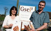 Gefragte Spezialitäten: Adelheid und Werner Gsell haben eine Nische entdeckt. (Bild: Maya Mussilier)
