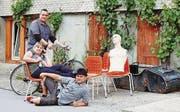 Der Trödlertag ist ein Gemeinschaftsprojekt des Einwohnervereins Rebstein mit Präsidentin Sybille Graf sowie den engagierten Einwohnern Patrick Rohner und Andreas Breu. (Bild: pd)