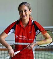 Der Badmintonsport hat Claudia Senn mitgetragen. (Bild: Matthias Zindel)
