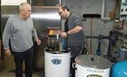 Beim Heerbrugger Bier gilt die Regel: «Es hät, solang's hät.» Michael Carnier musste bei einzelnen Sorten schon Wartelisten führen. (Bild: Kurt Latzer)