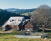 Einfriedung eines Appenzeller Bauerngartens beim Äusseren Sommersberg in Gais. (Bild: Hanspeter Schiess)