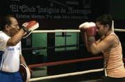 Junge Frau boxt sich nach oben: Szene aus dem Spielfilm «La Yuma», der das Filmfestival morgen eröffnet. (Bild: pd/Trigon)