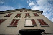 """Der """"Freihof"""" ist für viele Mörschwiler längst zum Schandfleck verkommen. (Bild: Michel Canonica)"""