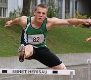 Raphael Zeller (TV Herisau) startete über 400 m Hürden.