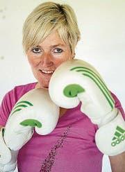 Polizistin und Boxtrainerin Géraldine Brot. (Bild: Urs Bucher)
