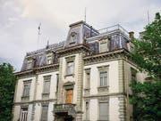 Noch ist offen, ob die Villa Wiesental einem Neubau weichen muss. (Bild: Benjamin Manser)
