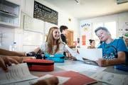 Rund 125 Kinder und Jugendliche im Alter von 3 bis 19 Jahren gehen jährlich an der International School Rheintal in Buchs ein und aus. (Bild: PD)