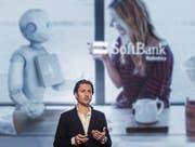 Christoph Auer-Welsbach von IBM malt eine Zukunft aus, in der intelligente Maschinen zum Alltag gehören. (Bild: Michel Canonica)