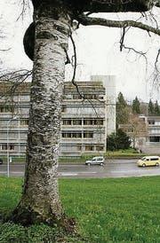 Gegenüber dem GBS ist das Alterszentrum geplant. (Archivbild: Hanspeter Schiess)