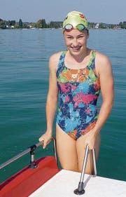 Sarah Ingold möchte rund 15 Kilometer weit schwimmen. (Bild: PD)
