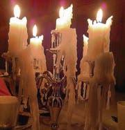 Brennende Kerzen sollen nie unbeaufsichtigt sein. (Bild: Christiana Sutter)