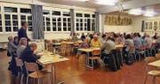 Viele Neue nahmen an der Wahlversammlung teil. (Bild: pd)