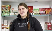 Sibylle Gutbub ist die Geschäftsführerin von «Vegantasia» an der Spisergasse 30. (Bild: Katharina Schatton)