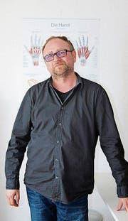 Heiko Erbes ist diplomierter Ergotherapeut. (Bild: Judith Schönenberger)